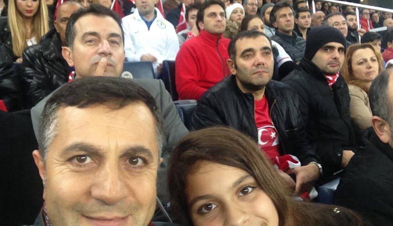Türkiye -Brezilya Milli Takım Maçına Sevgili Kızımla katıldık