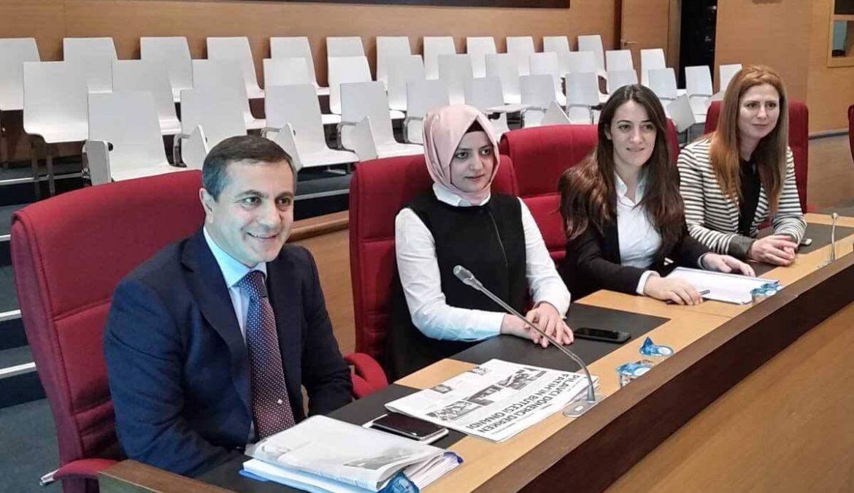 Fatih Belediyesi Meclis Toplantısı'ndan bir kare…